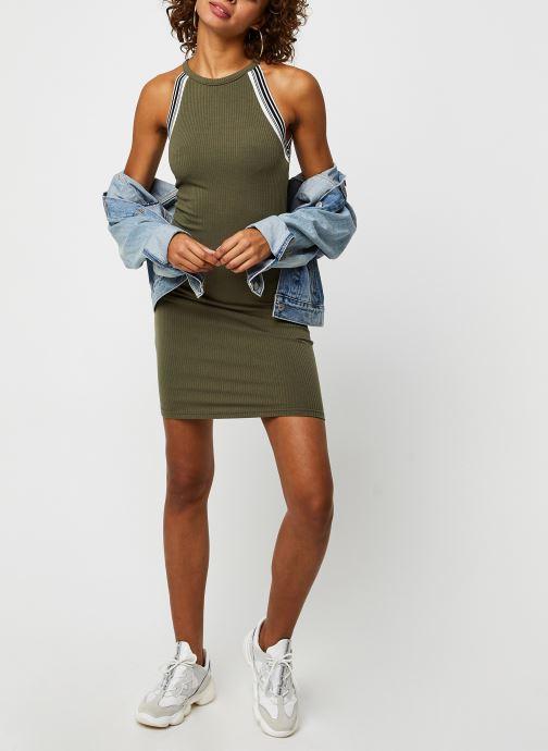 Vêtements Noisy May Long Dresses VALSAN Vert vue bas / vue portée sac