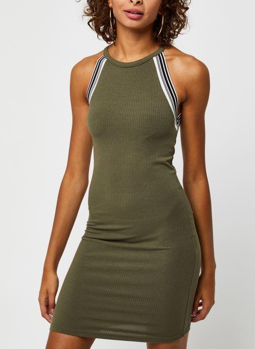 Vêtements Noisy May Long Dresses VALSAN Vert vue droite