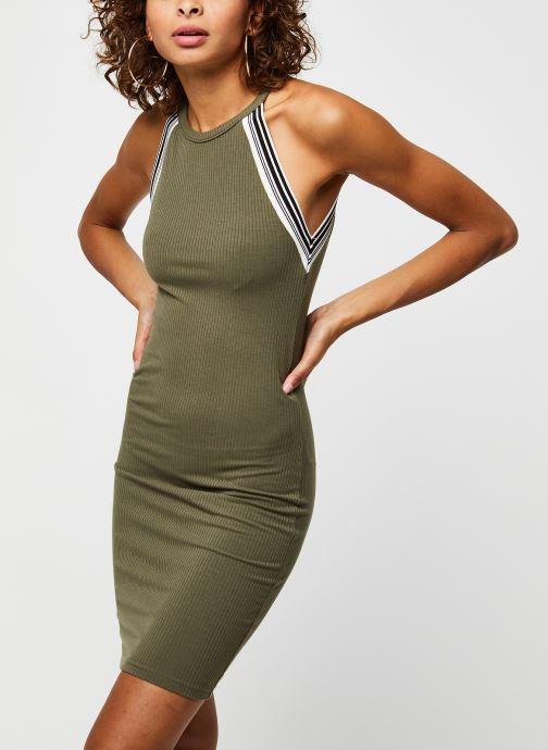 Vêtements Noisy May Long Dresses VALSAN Vert vue détail/paire