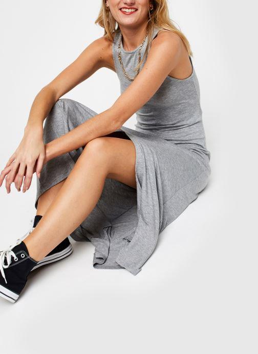 Vêtements Noisy May Long Dresses KIRA Gris vue bas / vue portée sac