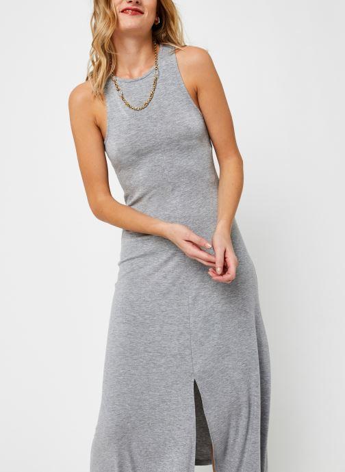 Vêtements Noisy May Long Dresses KIRA Gris vue droite