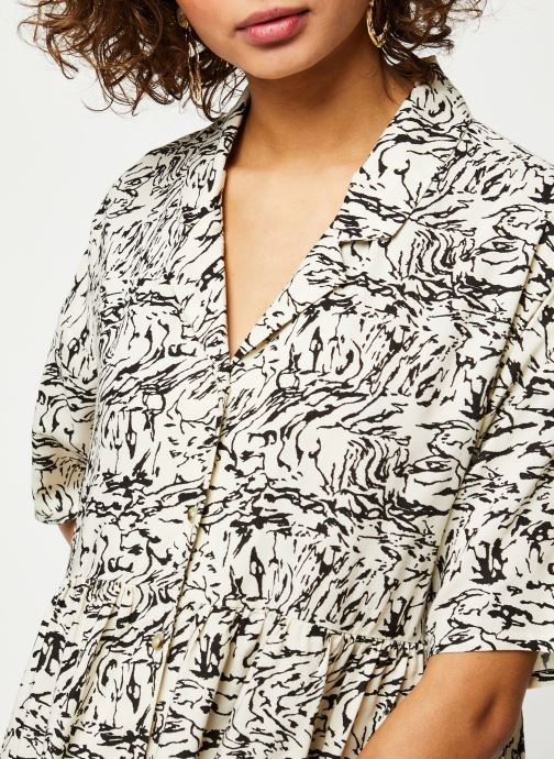 Vêtements Noisy May Short Dresses SULA Blanc vue face