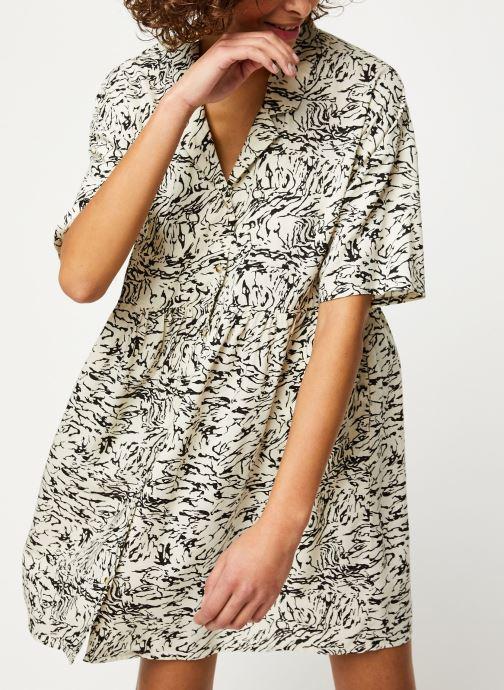 Vêtements Noisy May Short Dresses SULA Blanc vue droite