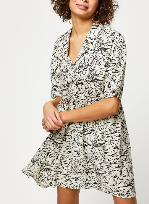 Vêtements Noisy May Short Dresses SULA Blanc vue détail/paire