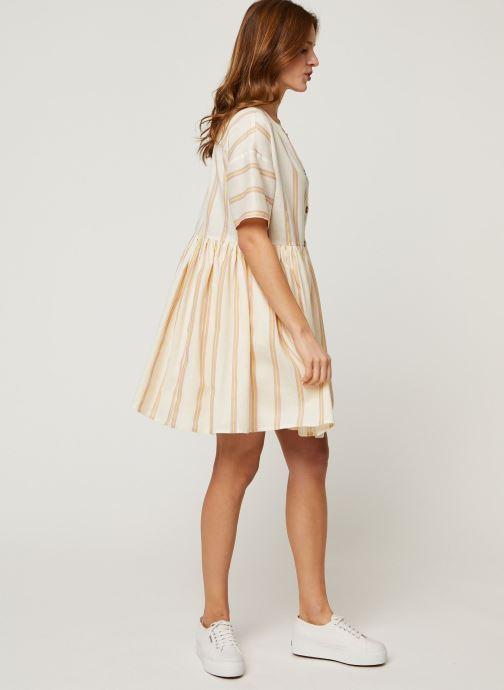 Noisy May Robe mini - Short Dresses Roxy (Blanc) - Vêtements (429605)