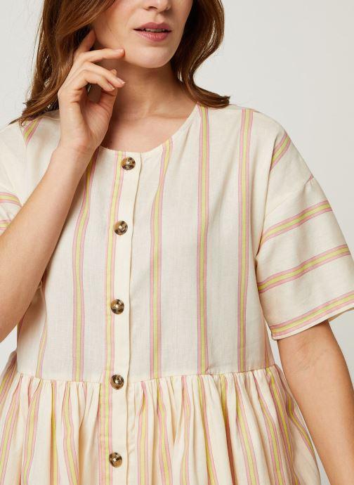 Vêtements Noisy May Short Dresses ROXY Blanc vue face