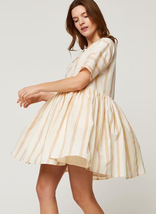 Vêtements Noisy May Short Dresses ROXY Blanc vue détail/paire