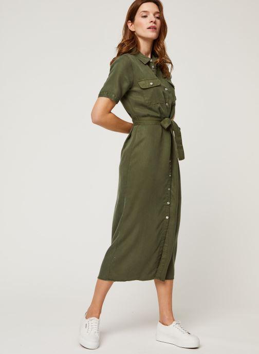 Vêtements Noisy May Long Dresses CERSEI Vert vue bas / vue portée sac