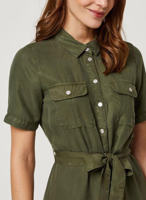 Vêtements Noisy May Long Dresses CERSEI Vert vue face