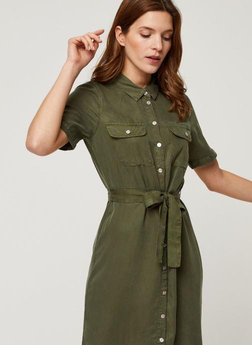 Vêtements Noisy May Long Dresses CERSEI Vert vue droite
