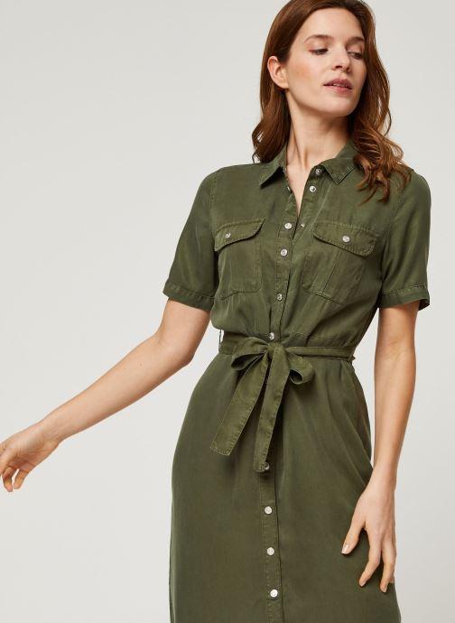 Vêtements Noisy May Long Dresses CERSEI Vert vue détail/paire