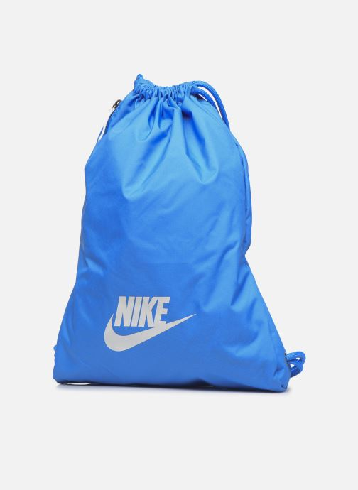 Zaini Nike Nk Heritage Gmsk - 2.0 Azzurro modello indossato