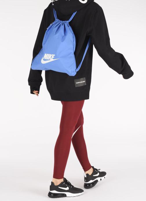 Sacs à dos Nike Nk Heritage Gmsk - 2.0 Bleu vue bas / vue portée sac