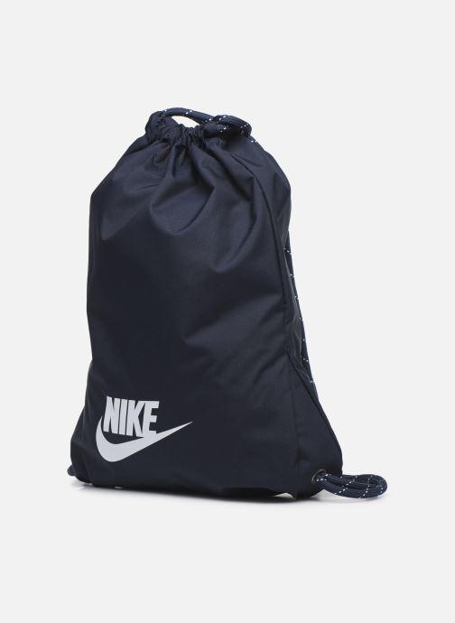 Sacs à dos Nike Nk Heritage Gmsk - 2.0 Bleu vue portées chaussures