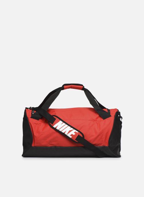 Sacs de sport Nike Nk Brsla M Duff - 9.0 (60L) Rouge vue face