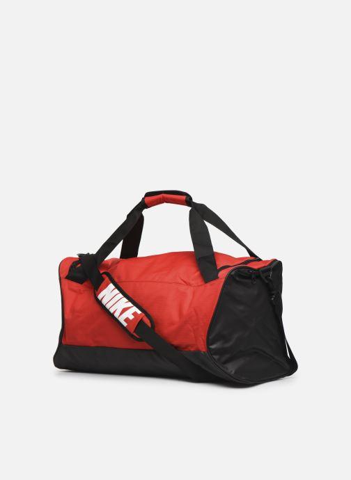 Sacs de sport Nike Nk Brsla M Duff - 9.0 (60L) Rouge vue droite