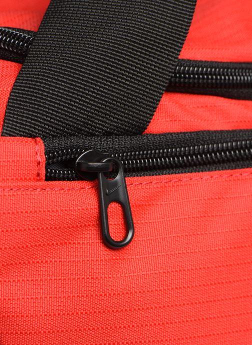 Sacs de sport Nike Nk Brsla M Duff - 9.0 (60L) Rouge vue gauche
