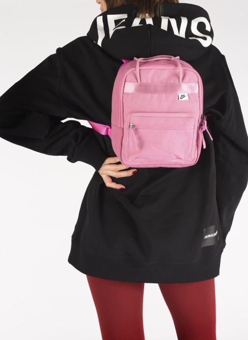 Rucksäcke Nike Nk Tanjun Bkpk - Mini rosa ansicht von unten / tasche getragen