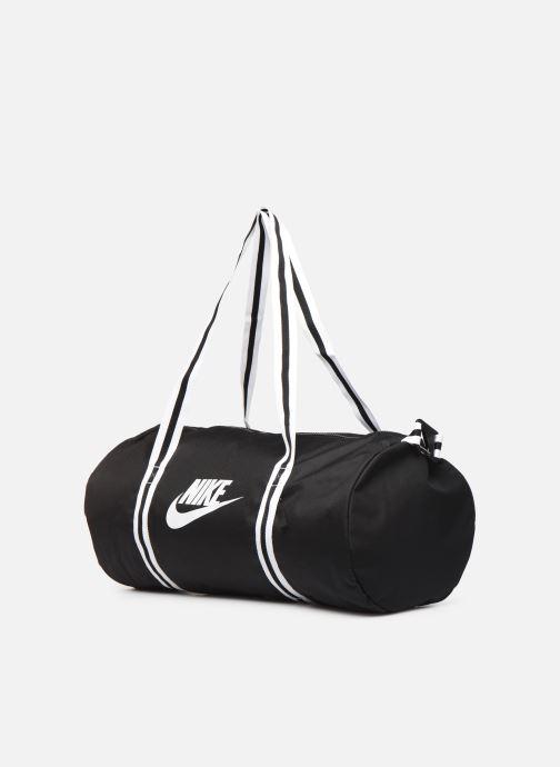 Sacs de sport Nike Nk Heritage Duff Noir vue portées chaussures