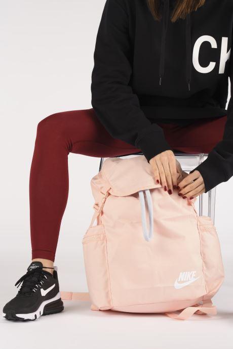Sacs à dos Nike Nk Heritage Rksk Rose vue bas / vue portée sac