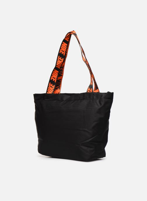 Sports bags Nike Nk Sprtswr Essentials M Tote Black view from the right