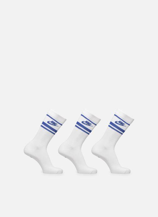 Chaussettes et collants Nike U Nk Crew Nsw Essential Stripe Blanc vue détail/paire