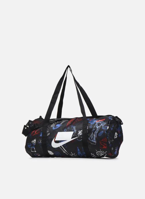 Borsa da palestra Nike Nk Heritage Duffle - Gfx Nero modello indossato