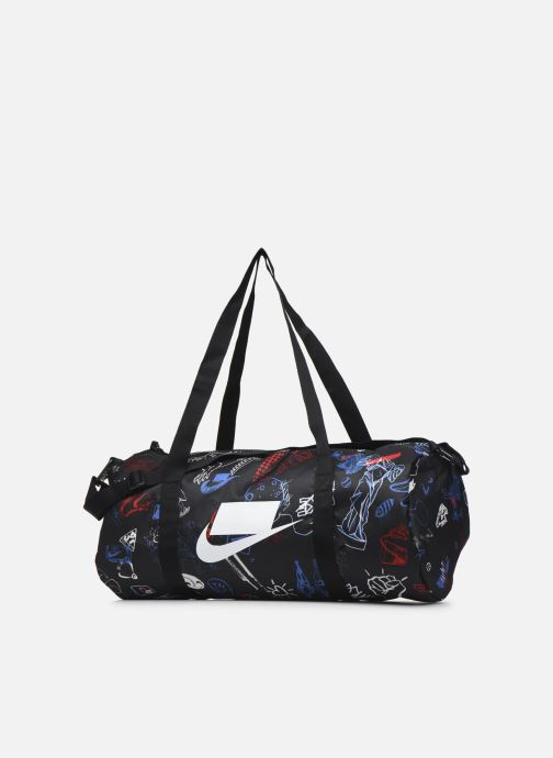 Sporttaschen Nike Nk Heritage Duffle - Gfx schwarz schuhe getragen