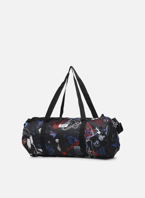 Sports bags Nike Nk Heritage Duffle - Gfx Black view from the right