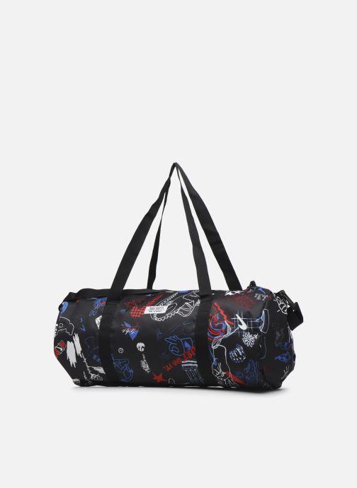 Sporttaschen Nike Nk Heritage Duffle - Gfx schwarz ansicht von rechts