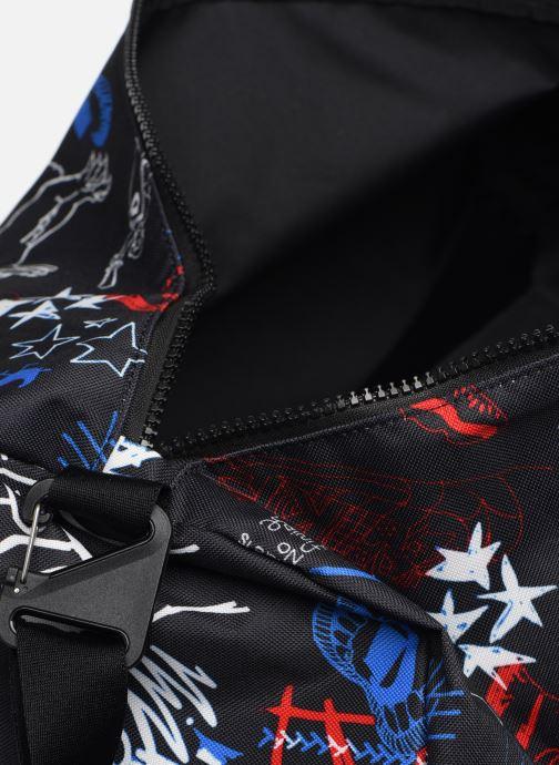 Sporttaschen Nike Nk Heritage Duffle - Gfx schwarz ansicht von hinten
