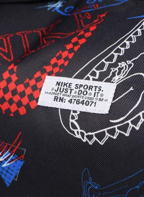 Sporttaschen Nike Nk Heritage Duffle - Gfx schwarz ansicht von links