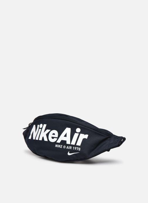 Marroquinería pequeña Nike Nk Heritage Hip Pack - 2.0 Nka Azul vista del modelo
