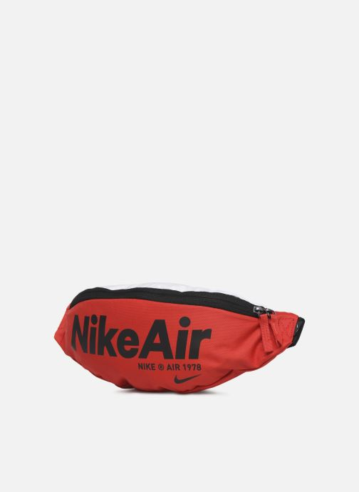 Petite Maroquinerie Nike Nk Heritage Hip Pack - 2.0 Nka Rouge vue portées chaussures