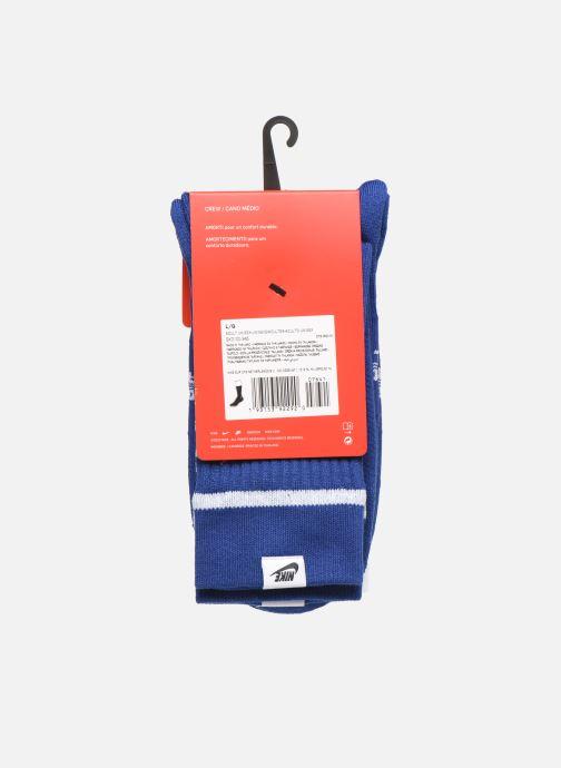 Socken & Strumpfhosen Nike U Snkr Sox Crew 2Pr - Swoosh blau ansicht von vorne