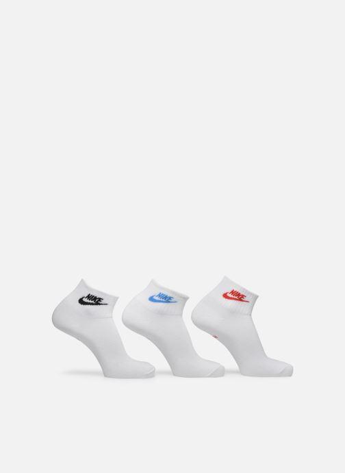Chaussettes et collants Nike U Nk Nsw Evry Essential Ankle Blanc vue détail/paire