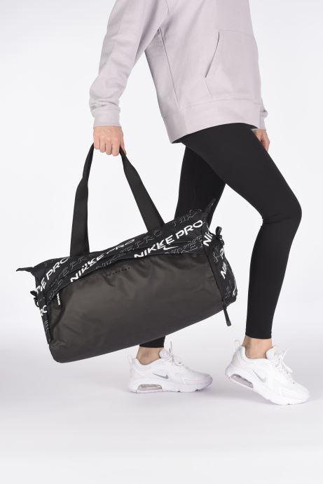 Sporttaschen Nike W Nk Radiate Club - Gfx Sp20 schwarz ansicht von unten / tasche getragen