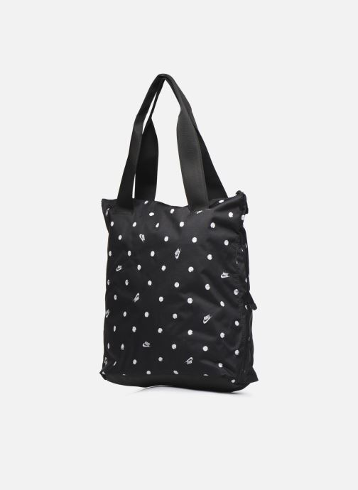 Sports bags Nike W Nk Radiate Tote - Aop Sp20 Black view from the right