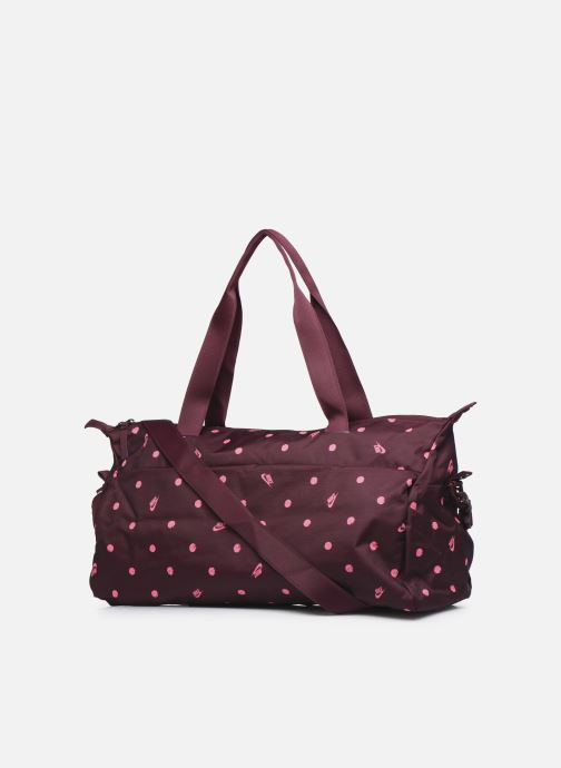 Sports bags Nike W Nk Radiate Club - Aop Sp20 Burgundy view from the right