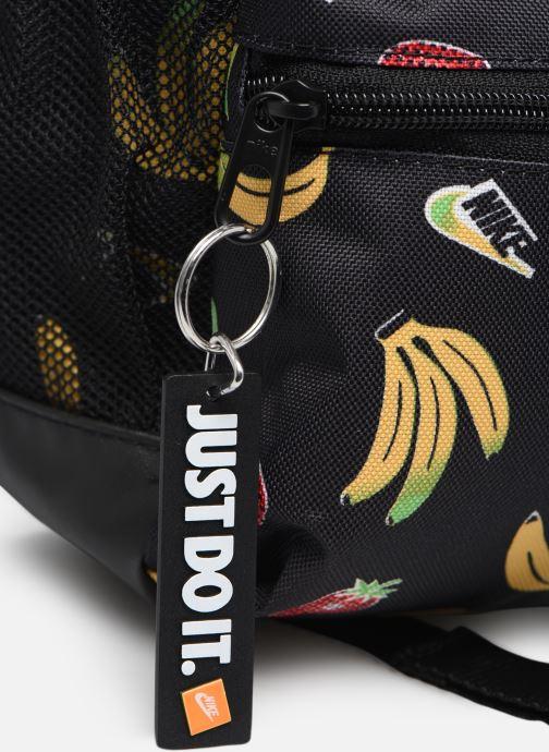 Sacs à dos Nike Y Nk Brsla Jdi Mini Bkpk-Aop S Noir vue gauche