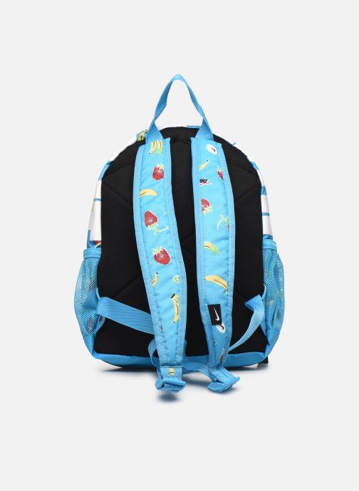 Rucksäcke Nike Y Nk Brsla Jdi Mini Bkpk-Aop S blau ansicht von vorne
