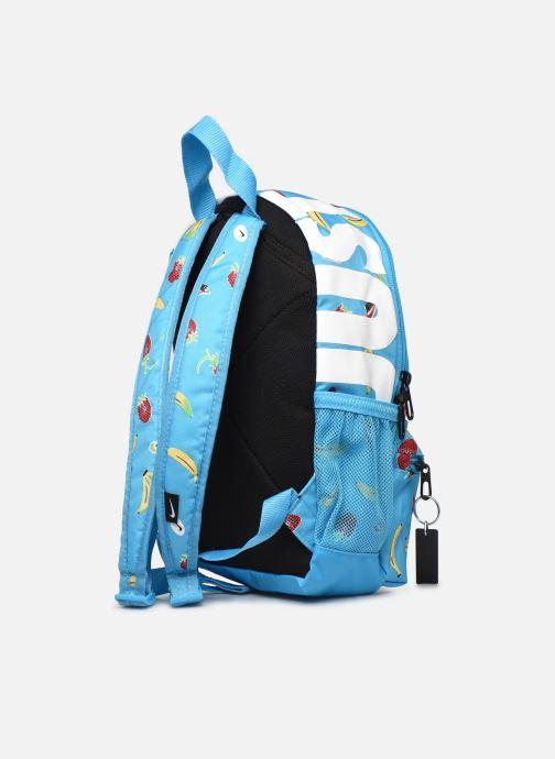 Rucksäcke Nike Y Nk Brsla Jdi Mini Bkpk-Aop S blau ansicht von rechts
