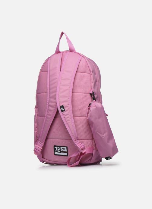 Rucksäcke Nike Y Nk Elmntl Bkpk - Fa19 rosa ansicht von rechts