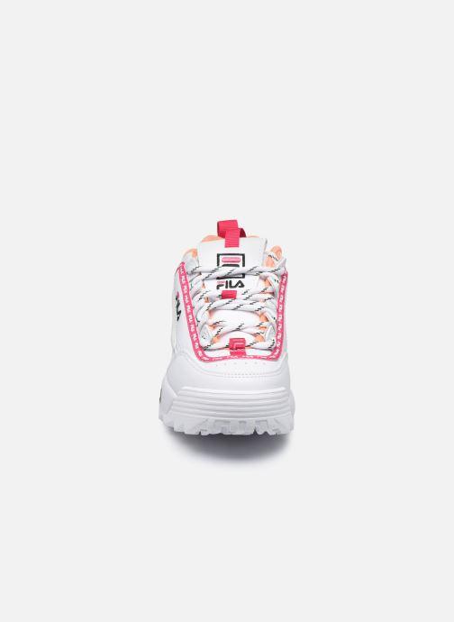 Baskets FILA Disruptor Logo Jr Multicolore vue portées chaussures