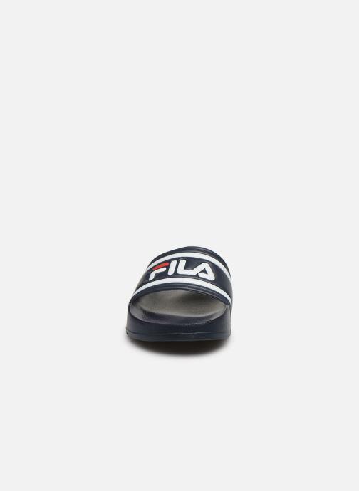Sandales et nu-pieds FILA Morro Bay Kids Bleu vue portées chaussures