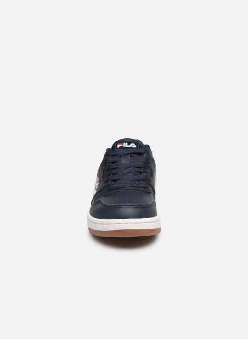 Sneaker FILA Arcade Low Kids blau schuhe getragen