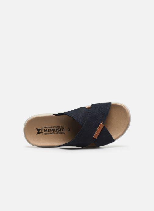 Sandales et nu-pieds Mephisto Conrad C Bleu vue gauche
