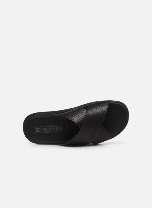 Sandales et nu-pieds Mephisto Conrad C Noir vue gauche