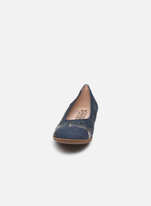 Ballerines Mephisto Elina C Bleu vue portées chaussures