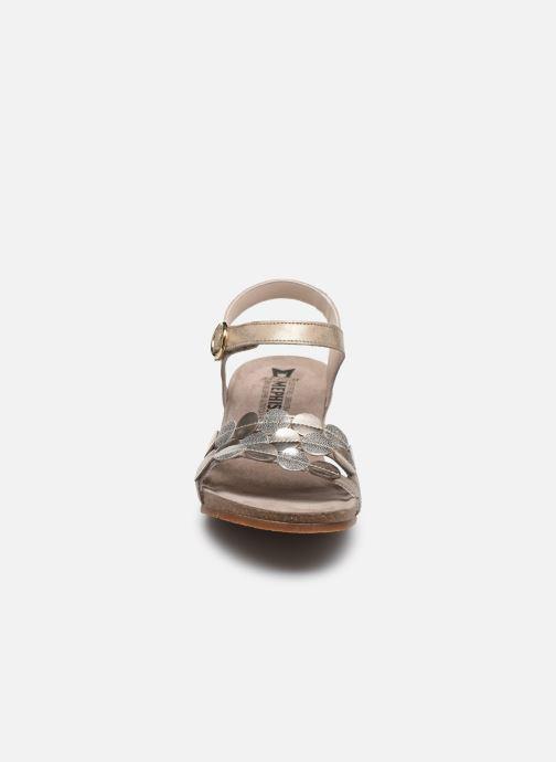 Sandales et nu-pieds Mephisto Matilde C Marron vue portées chaussures
